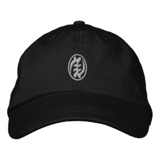 Amiot Gallery Adinkra hat Embroidered Baseball Cap