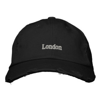 Amiot Gallery Black London  hat Embroidered Hats