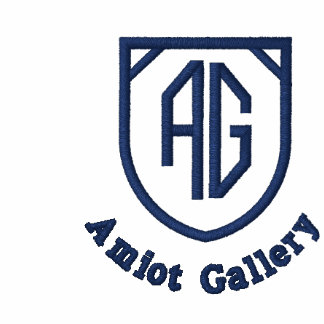 Amiot Gallery Blue T-shirt - Large Full Logo