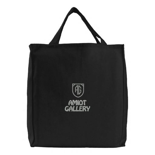AMIOT GALLERY ELEGANT BLACK TOTE - AW