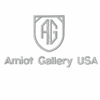 Amiot Gallery Sweat  - Silver Tag Embroidered Hoody