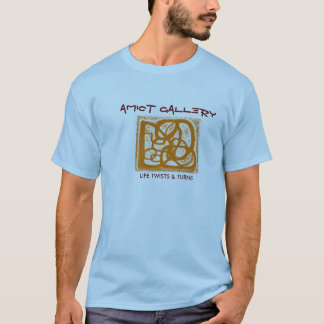 AMIOT GALLERY T-SHIRT - LIFE TWISTS AND TURNS