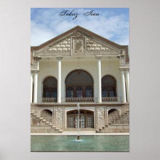 Amir Nezam  House in Tabriz, Iran Poster