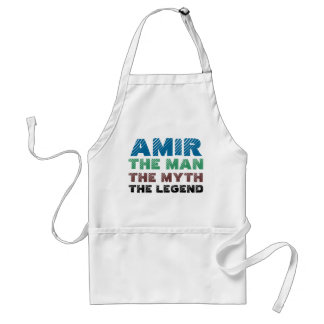 Amir the man, the myth the legend standard apron
