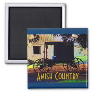 Amish Buggy Magnet