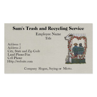 Amish Couple On Porch Swing Double-Sided Standard Business Cards (Pack Of 100)