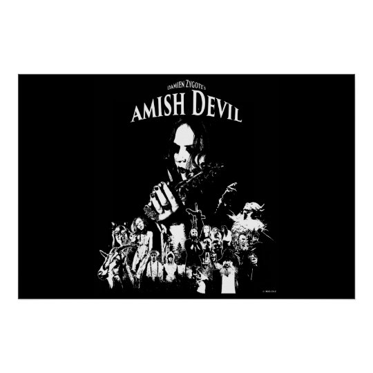 "AMISH DEVIL 36""x24"" PROMOTIONAL MOVIE POSTER"