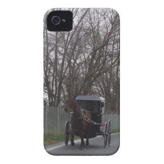 Amish Horse Buggy Blackberry Case