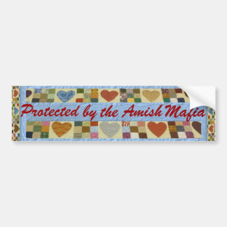 Amish Mafia Protection! Bumper Sticker! Bumper Sticker