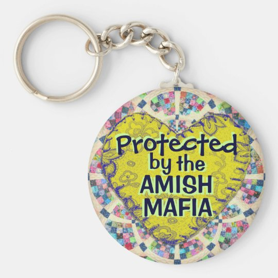 Amish Mafia Protection Keychain! Key Ring