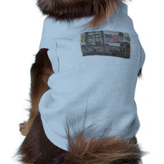 Amish One Room School Room Sleeveless Dog Shirt