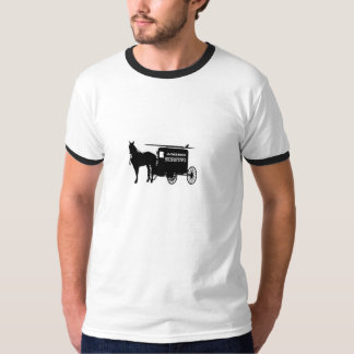 Amish Surfing and Skiing T-Shirt