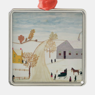 Amish Village Christmas Ornament