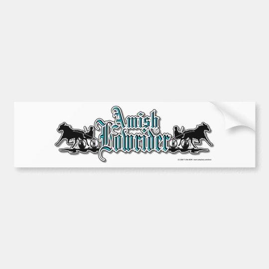 AmishLowrider Bumper Sticker