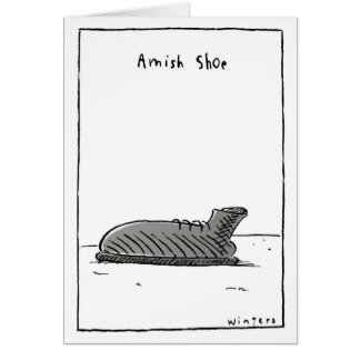 AmishShoe Card