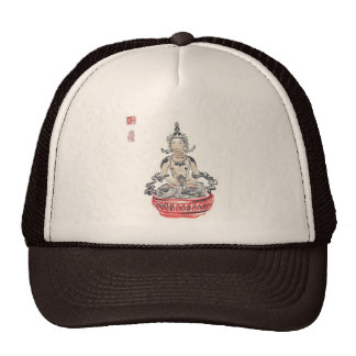 Amitabha Buddha Meditating Hat