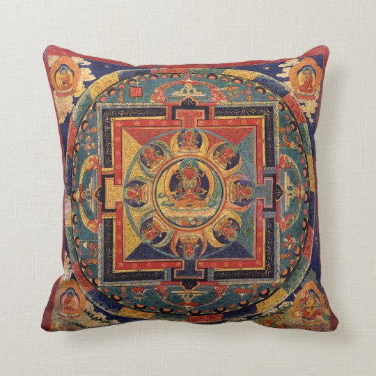 Amitayus Mandala Cushion