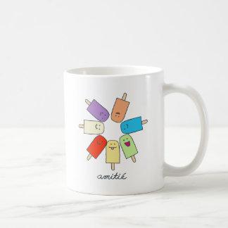 Amitié Basic White Mug
