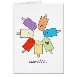 Amitié Greeting Card