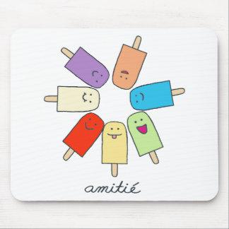 Amitié Mouse Pad