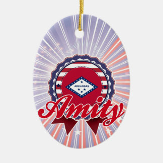 Amity, AR Christmas Ornament