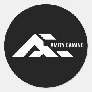 aMity Gaming Black Sticker