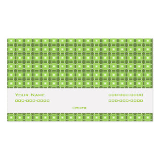 Amity Green Pack Of Standard Business Cards