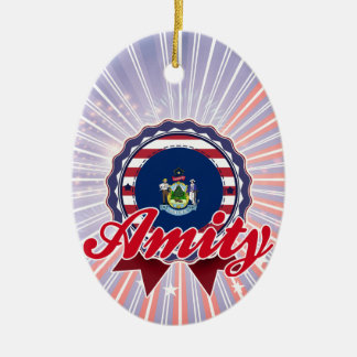Amity, ME Christmas Tree Ornaments