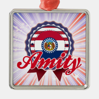 Amity, MO Christmas Tree Ornament