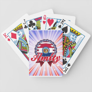 Amity MO Bicycle Playing Cards