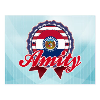 Amity, MO Postcard