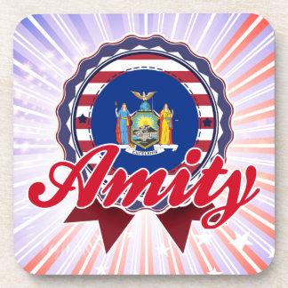 Amity NY Drink Coasters