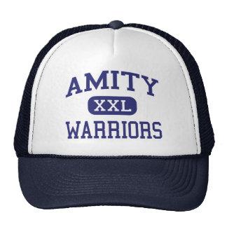 Amity - Warriors - High School - Amity Oregon Mesh Hat