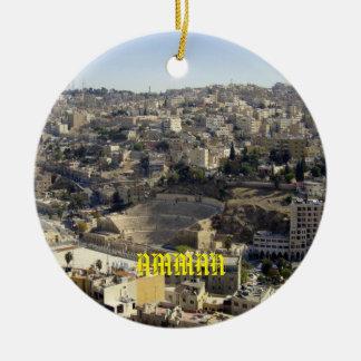 Amman Jordan Scenic Ornament