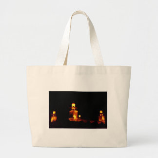 Amman King Hussein Mosque #2 Large Tote Bag