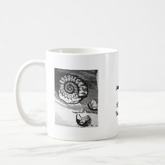 Ammonite Fossil Cup