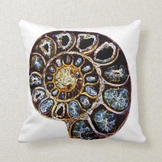 Ammonite Throw Cushion