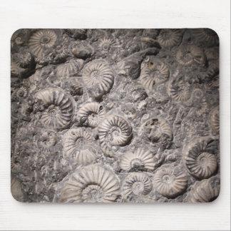 Ammonites Mouse Mat
