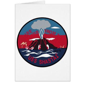 AMMUNITION SHIP, ARTILLERY, Insignia, MILITARY, Greeting Card