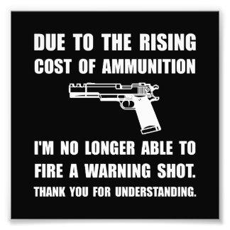 Ammunition Warning Shot Photo Art