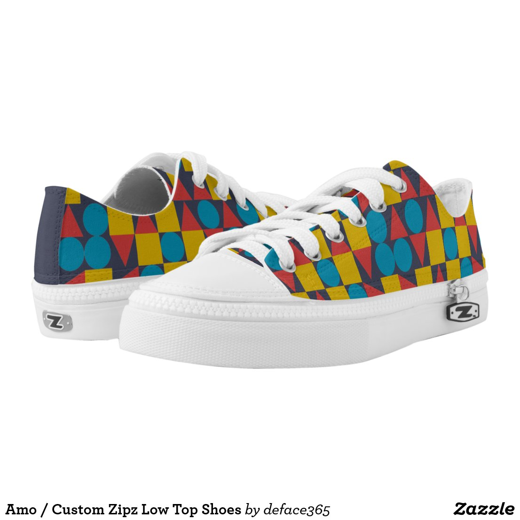 Amo / Custom Zipz Low Top Shoes