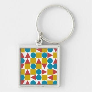 Amo / Small (3.5 cm) Premium Square Key Ring