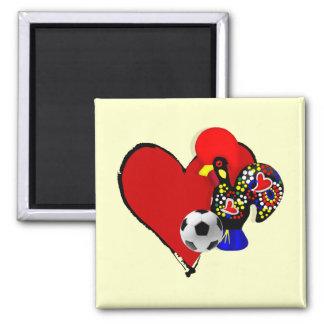 Amor Barcelos Futebol - Deus é Maravilhoso Magnet