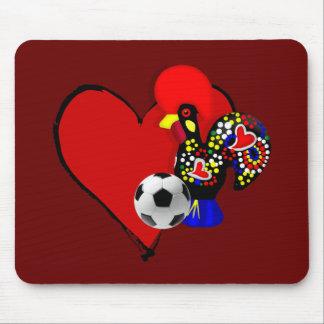 Amor, Barcelos, Futebol - Deus é Maravilhoso Mouse Pad