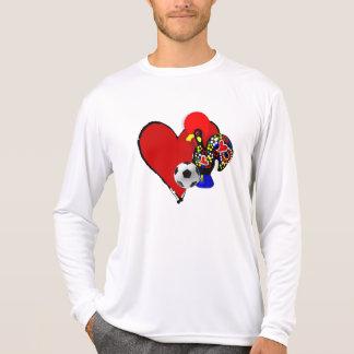 Amor, Barcelos, Futebol - Deus é Maravilhoso T Shirt