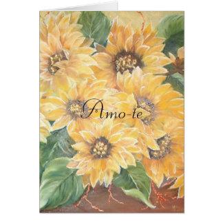 amor greeting card