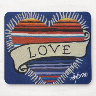 Amor del Corazon Mouse Pad
