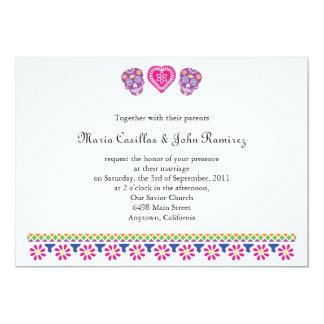Amor Eterno Sugar Skulls Banner 13 Cm X 18 Cm Invitation Card