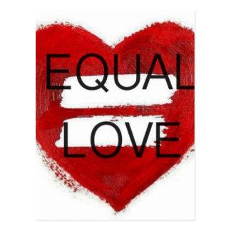 Amor Igual - equal love Postcard
