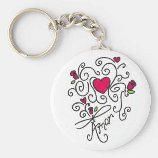 Amor Key Ring